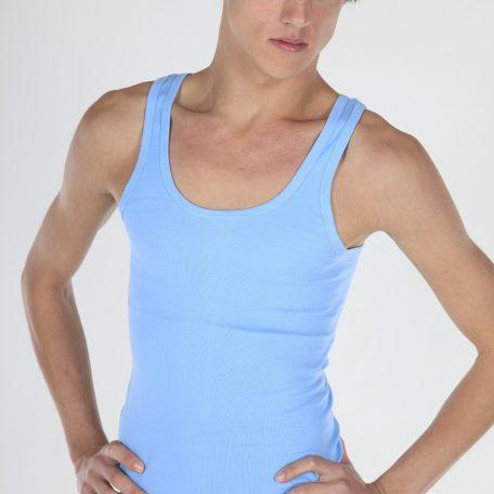 Heren hemd bleu