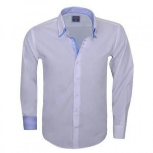 Arya Boy White 85164 – Slimflit Overhemd – Schitterend Italiaans Design