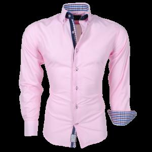 Arya Boy Pink 85163 – Slimflit Overhemd – Schitterend Italiaans Design
