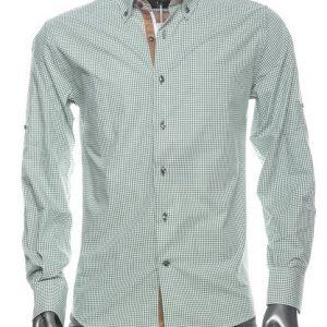 WAM Denim Green 75164 – Slimflit Overhemd – Schitterend Italiaans Design