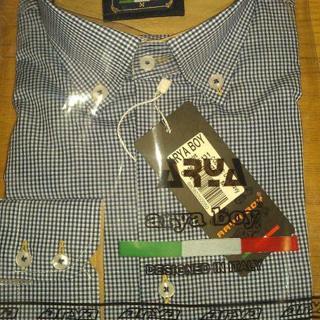 Arya Boy Overhemd.Arya Boy 85131 Slimflit Overhemd Schitterend Italiaans Design