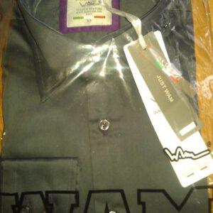 WAM Denim Antraciet 75140 – Slimflit Overhemd – Schitterend Italiaans Design
