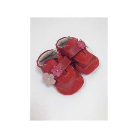 schoenen-zachte-zool-bloem-rood-