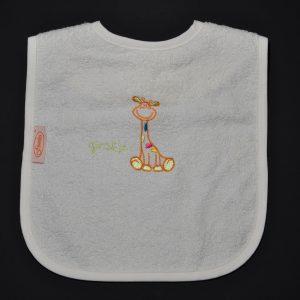 Slabbetje Girafje Oranje