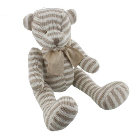 nap04523-bambino-by-juliana-cotton-knitted-stripe-toy-large-bear-22cm