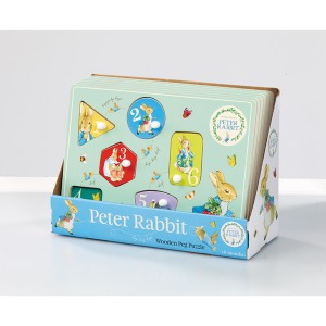 Peter Rabbit Houten Peg Puzzel (toy05604)