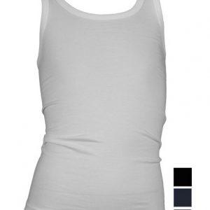 Beeren Jongens hemd Comfort Feeling wit, zwart en marine