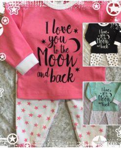 beeren pyjama roze