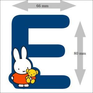 Letter Nijntje 8 cm: E (3390E)