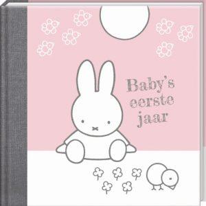 """Nijntje Invulboek """"Baby's eerste jaar"""" Roze (06113)"""