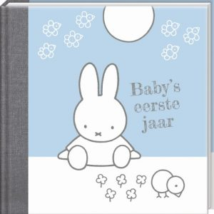"""Nijntje Invulboek """"baby's eerste jaar"""" blauw"""