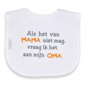 Funnies Tekstslab : Als het van Mama niet mag, vraag ik het aan mijn oma