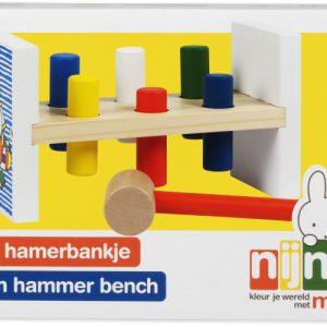 Nijntje hamerbankje hout (33411)