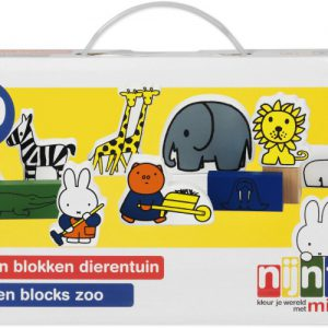 Nijntje Houten Blokken Dierentuin (33409)