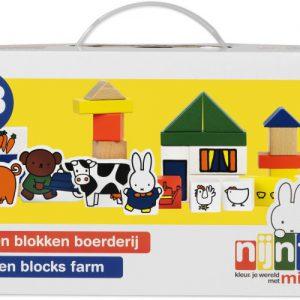 Nijntje Houten Blokken Boerderij (33410)