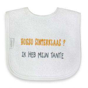 Funnies Tekstslab: Hoezo Sinterklaas? Ik heb mijn tante