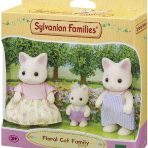 Sylvnian Families; Familie Witte Kat (5373)
