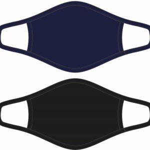 Mondkapjes Beeren Bodywear Heren zwart/marine maat M