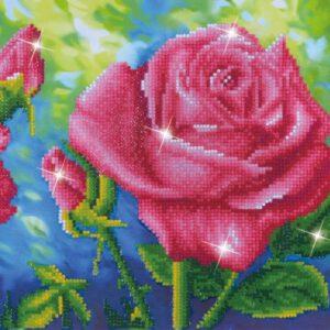 Les Roses du Jardin Diamond Dotz: 82×27 cm (DD9.014)