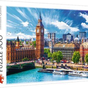 Puzzel Zonnige dag in Londen: 500 stukjes (37329)