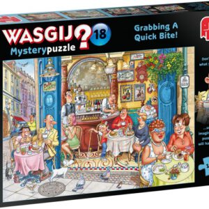 Puzzel Wasgij Mystery 18: 1000 stukjes (19179)