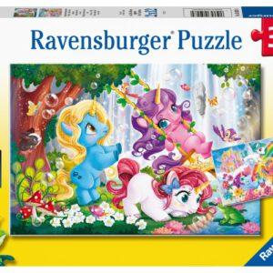 Puzzel Lieve Eenhoorn: 2×12 stukjes (50284)