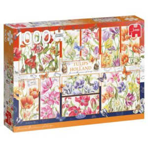 Puzzel Hollandse Tulpen: 1000 stukjes (18852)