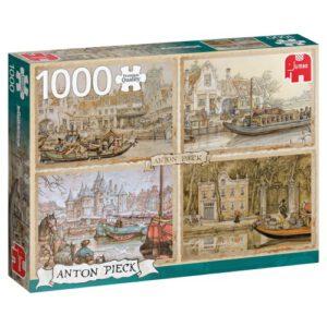 Puzzel Anton Pieck: Boten op de gracht 1000 stukjes (18855)