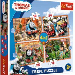 Puzzel Thomas: 12/15/20/24 stukjes (34354)