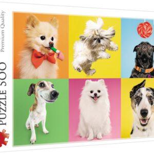 Puzzel Hondjes: 500 stukjes (37378)
