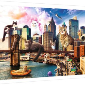Puzzel Katten in New York: 1000 stukjes (10595)
