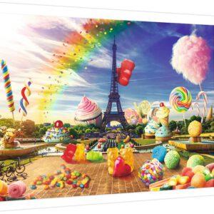 Puzzel Snoepgoed in Parijs: 1000 stukjes (10597)