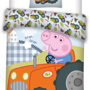 Peppa Pig Dekbedovertrek Ledikant (036PEP)