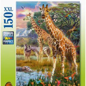 Puzzel XXL Savanne (129430)