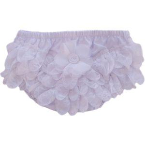 Baby Slip met roezels, wit